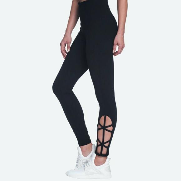83a8977fd5f2d8 GAIAM Pants | Nwt Lana Om High Rise Yoga Leggings Sz Xs | Poshmark
